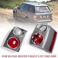 Для Land Rover фонарь 1 пара хвост Тормозная стоп задние фонари бампер отражатель для RANGE ROVER VOGUE L322 2002 2009