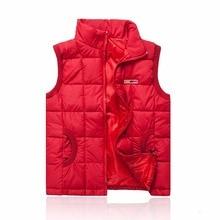 Women Vest Without Sleeves 2016 New Autumn Winter Plus Size Casual Female Down Cotton Vests of Women Veste Femme Waistcoat YT61