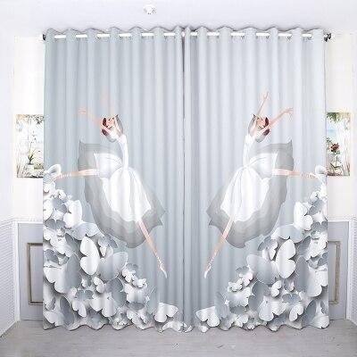 Custom Made 2x Grommet Window Drapery Window Curtain Living Room