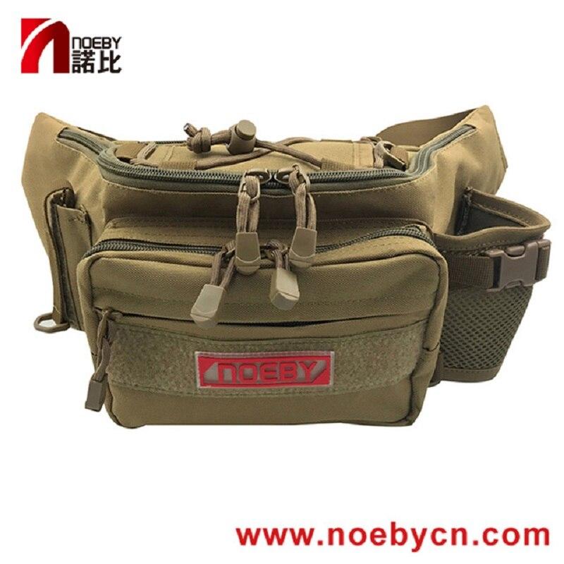 Noeby мини сумка для рыболовных снастей 28x19x12 см, холщовая поясная сумка, водонепроницаемая упаковка, рыболовные снасти, сумка для наружного оборудования Сумки для рыбалки      АлиЭкспресс