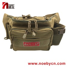 цена на Noeby Mini Fishing Tackle Bag 28x19x12cm Canvas Waist Lure Bag Waterproof Package Fishing Tackle Outdoor Equipment Bag
