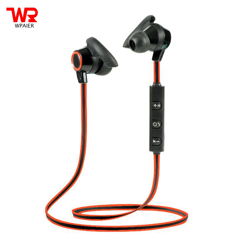 WPAIER AMW-810 Bluetooth headphones V4.1 portable sports running bluetooth headset Subwoofer stereo earphone exquisite