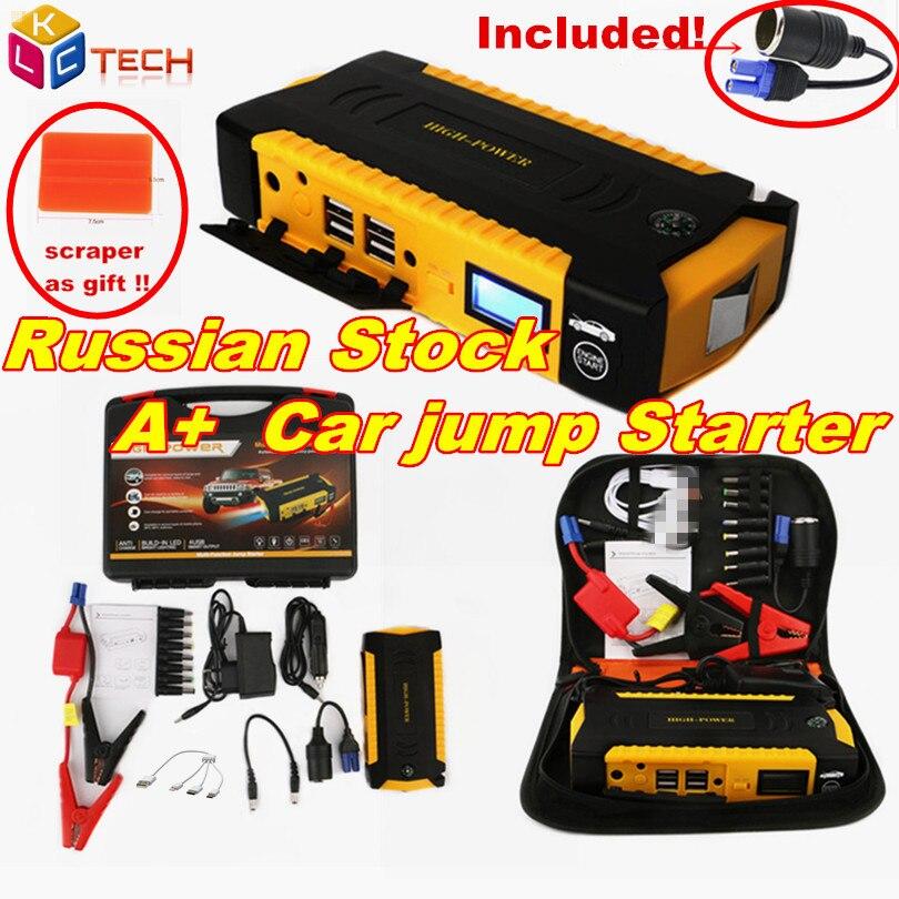Super puissance voiture saut démarreur batterie externe 600A Portable voiture batterie Booster chargeur 12V démarrage dispositif essence Diesel hiver froid