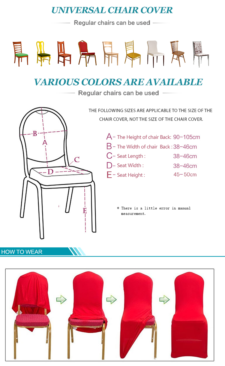 Strange Gold Spandex Wedding Chair Covers Universal Stretch Elastic Polyester Removable Chair Cover For Weddings Banquet Folding Hotel Aliexpress Creativecarmelina Interior Chair Design Creativecarmelinacom