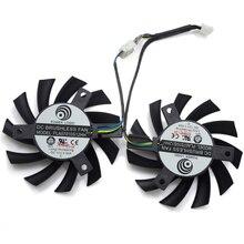 PLA07010S12HH 12V 0.5A 65mm 4Pin сменный вентилятор охлаждения для MSI R5770 Hawk-Видеокарта-Radeon HD 5770