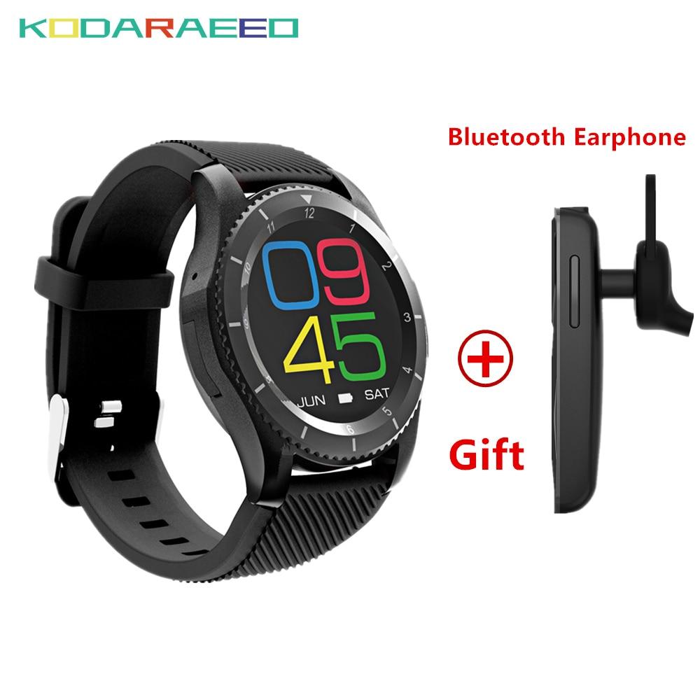 G8 Smartwatch Bluetooth 4.0 Fitness Tracker SIM Card Heart Rate Blood Pressure Smart Wat ...