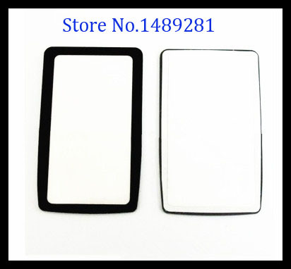 2pcs Top Outer LCD Display Window Glass Cover (Acrylic