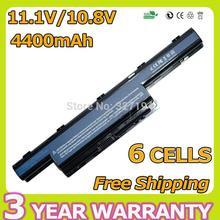 6 Celdas 4400 mAh Batería Del Ordenador Portátil para Packard Bell Easynote TK36 TK37 TK81 TK83 TK85 TK87 TXS66HR TS13HR TS11HR TS11SB TS13SB