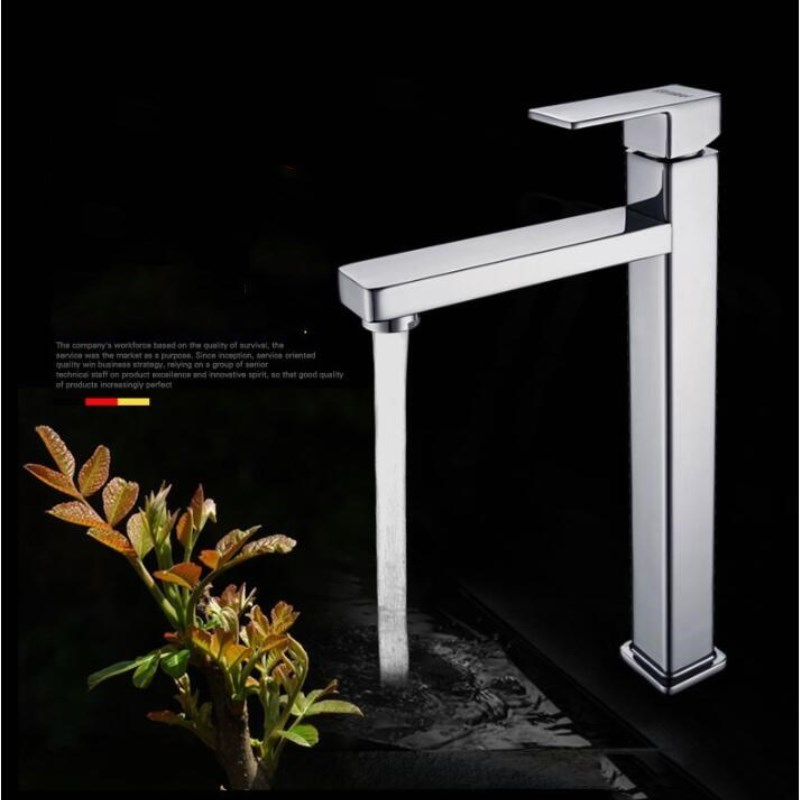 Deck Mounted Sink Basin faucet Singe Lever Bathroom Kitchen Single Cold Water Faucet Brass and Zinc alloy materialDeck Mounted Sink Basin faucet Singe Lever Bathroom Kitchen Single Cold Water Faucet Brass and Zinc alloy material