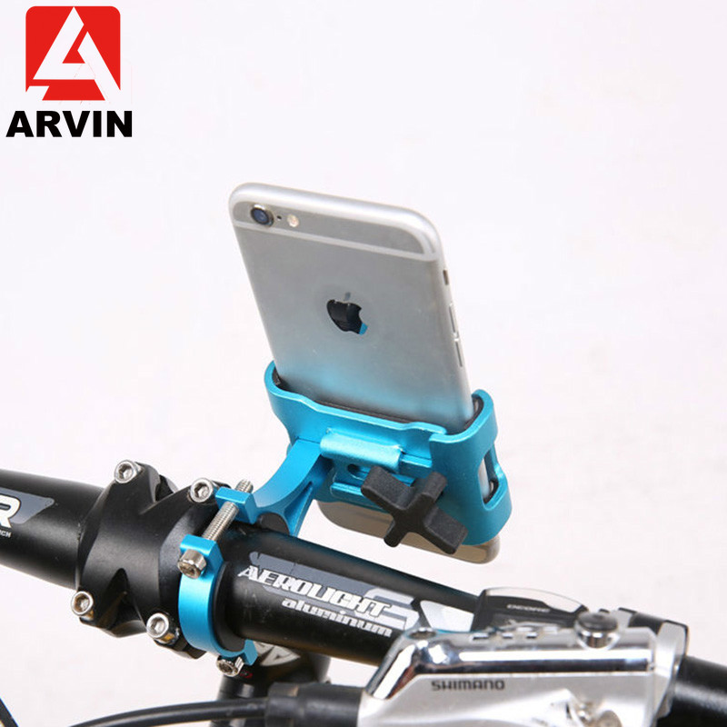 Universal MTB Motorcycle Bicycle Handlebar Phone Holder Aluminium Adjustable Metal Cycling Bike Bracket Mount For Mobile Phone-in Phone Holders & Stands from Cellphones & Telecommunications on AliExpress - 11.11_Double 11_Singles' Day 1