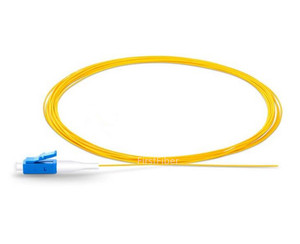 Image 3 - 1 متر 50 قطعة SC/LC UPC ضفيرة ألياف بسيطة 9/125 ضفيرة ألياف ضوئية أحادية الوضع G657A 0.9 مللي متر سترة PVC