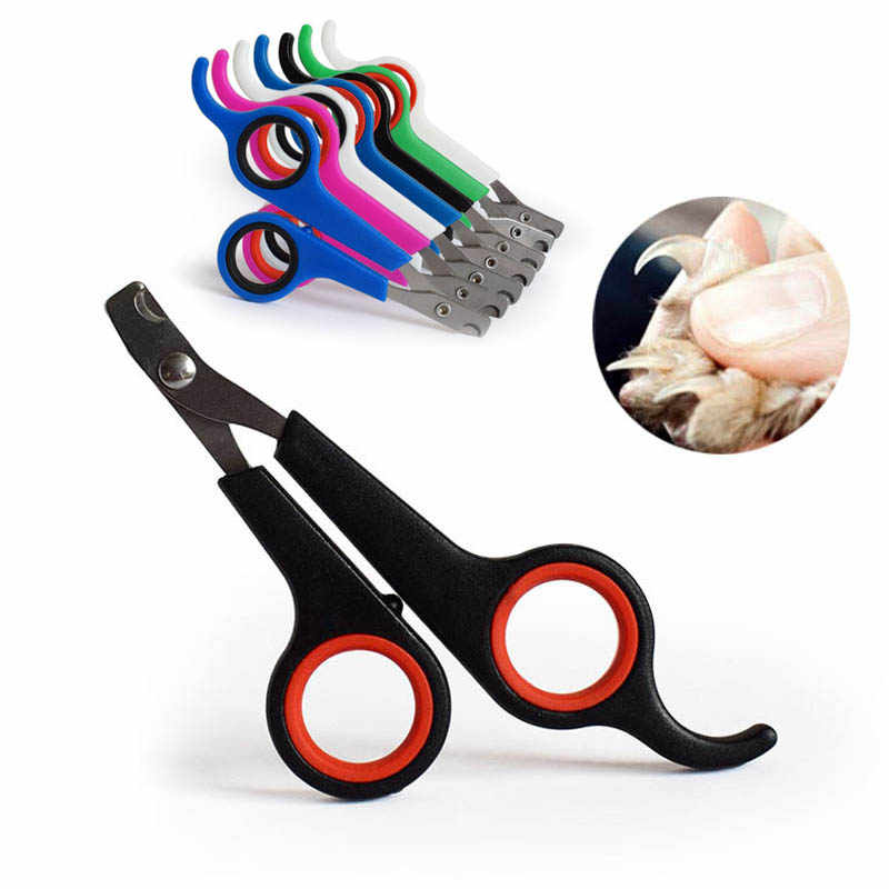 Pet Nail Toe Clipper  1 pc Dog Scissors  Stainless Steel  Pet Nail Scissors Portable Grooming Claw Cutter