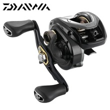 Original DAIWA CR CC 80H 80HL Baitcasting Fishing Reel 196g 7kg Max Drag Aluminum Spool Compact Body Saltwater Fishing Tackle