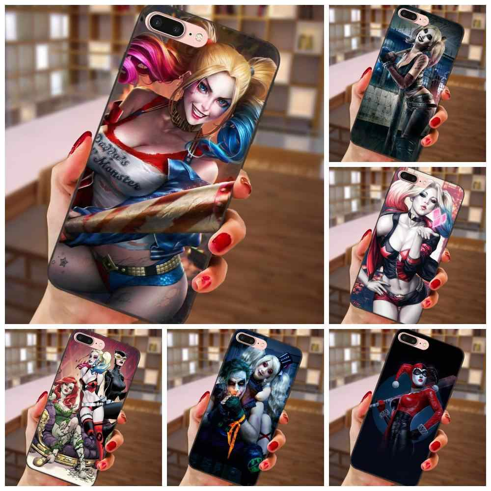 Batman Harley Quinn Blonde Sexy Girly For Huawei Honor 5A 6A 6C 7A 7C 7X 8A 8C 8X 9 10 P8 P9 P10 P20 P30 Mini Lite Plus