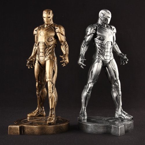 1/6 Scale 30CM  The Avengers Captain America Civil War Iron Man Mark XLV MK 45 Resin Starue Action Figure Collectible Model Toy the avengers 2 captain america 1 6 scale movable pvc action figure collectible model toy doll 32cm hot