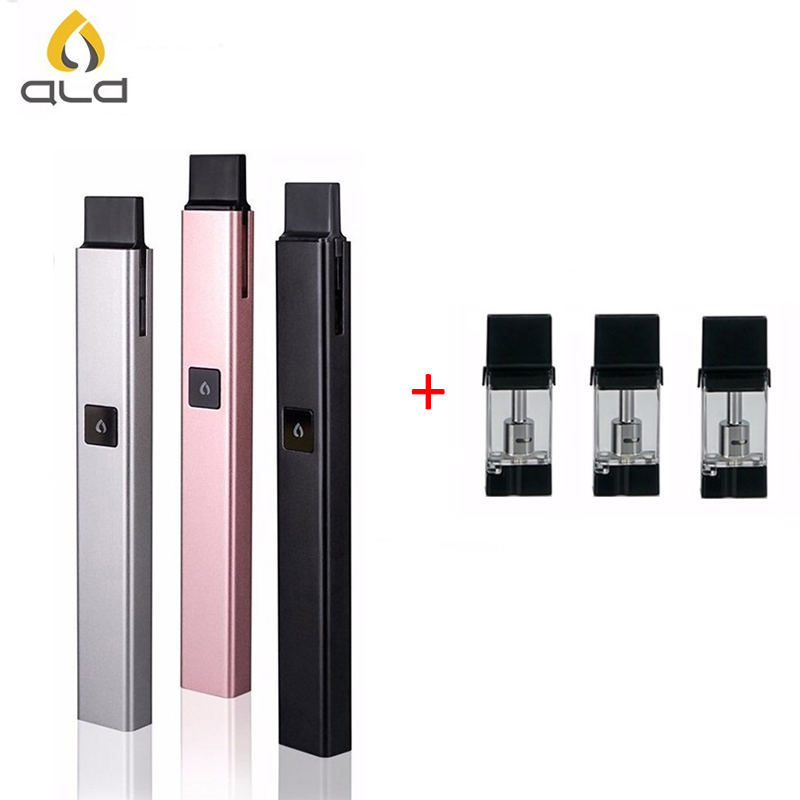 Original ALD AMAZE Vfire all-in-one 500mAh kit vaporizer pen with 3pcs cartridge atomizer vape pen starter kit vs juul pods
