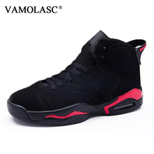 New Men's Leather Basketball Shoes Breathable Waterproof Sneakers High Top Athletic Shoes High Quality Sports Shoes BS0339