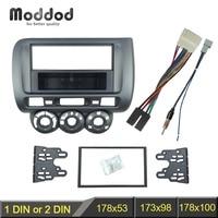 Left Wheel Facia For Honda Jazz One Double Din Radio DVD Stereo CD Panel Dash Mount