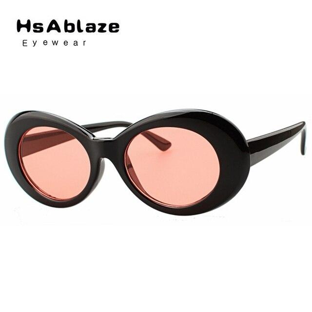 6ea640b4f6a20 Hsablaze eyewear new nirvana kurt cobain óculos de sol das mulheres dos homens  marca designer rodada