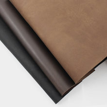 Crazy Horse Leather Material DIY Hand Leather Craft Vintage Oil Tanned Leather Piece Cowhide First Layer Cow Leather 1.8-2.2mm(China)
