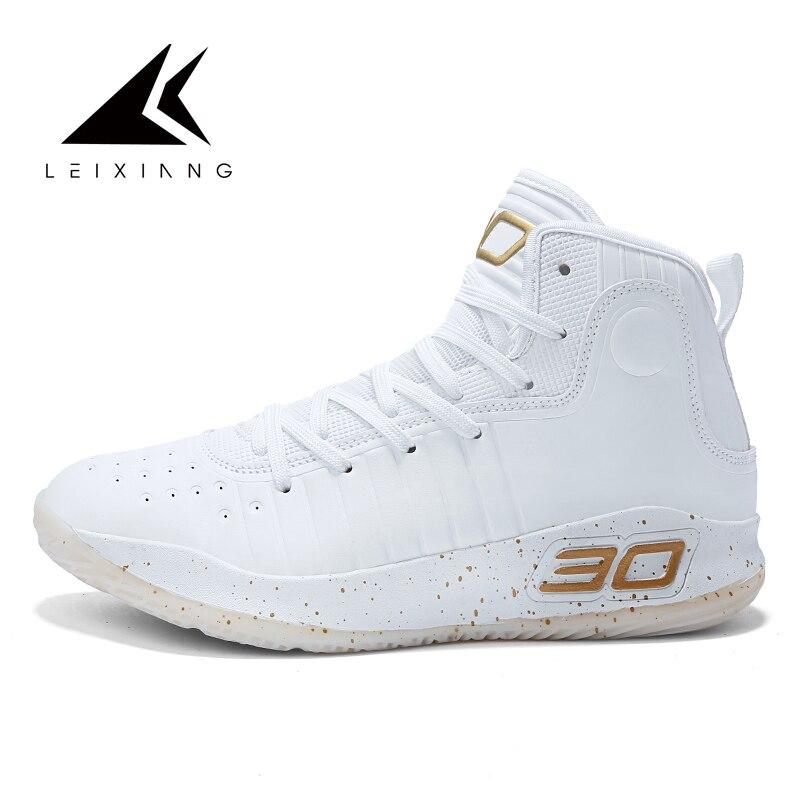 Venda quente Tornozelo Sapatas Do Esporte dos homens Tênis De Basquete Atlético Sapatos Ao Ar Livre Tênis de baloncesto Calzado masculino Cesta Homme