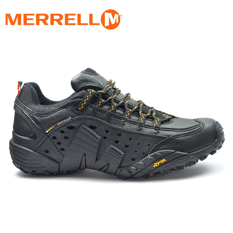 merrell all black shoes