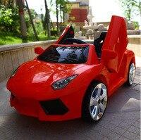 Оптовая продажа детей электрический автомобиль ездить на автомобиле четыре колеса дистанционного управления игрушечный автомобиль дети е