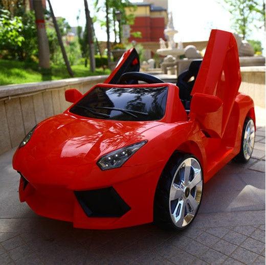 Оптовая продажа для детского электромобиля, езды на машине, четырехколесный пульт дистанционного управления, игрушечный автомобиль, детск