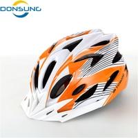 2017 Hot new Bike Ciclismo Casco EPS + PVC Ultraleggero strada di Montagna arancione opaco Casco da Bicicletta 56-63 cm 11 Colori casco ciclismo