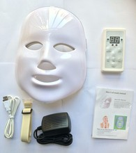 photon PDT led skin care facial mask blue green red light therapy beauty devices with wholesale price