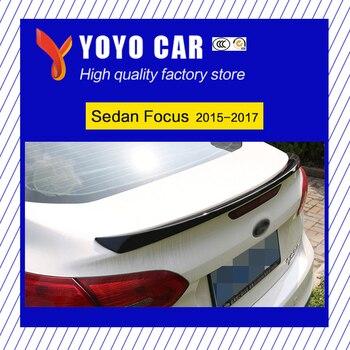 Heißer qualität ABS schwarz weiß oder primer unpainted farbe auto hinten lip spoiler für Limousine Fokus 2015 2016 2017 ford fokus 2