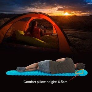 Image 3 - Naturehike açık itme şişme kamp Mat çadır açık zarf su geçirmez uyku pedi piknik katlanır yatak
