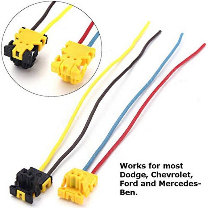 2 шт. Разъем подушки безопасности для фокусировки колеса водителя подушка безопасности со вставками для Dodge Chrysler Jeep Ford Mercedes-Benz
