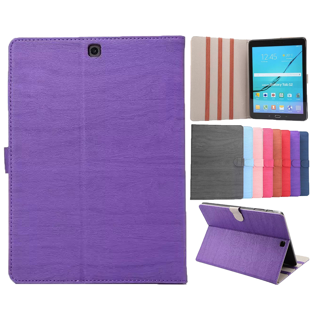 For Samsung Galaxy Tab S3 Case Ultra Slim PU Leather Skin Magnetic Solid Folding Cover For Galaxy Tab S3 9.7
