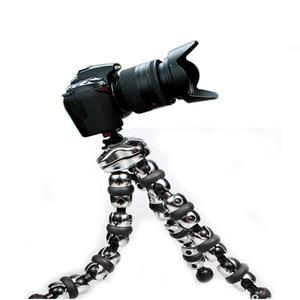 Image 3 - L حوامل كاميرا كبيرة تحميل 3 كجم Gorillapod Monopod مرنة المحولات ترايبود السفر الصغير في الهواء الطلق DSLRs كاميرات رقمية Hoders