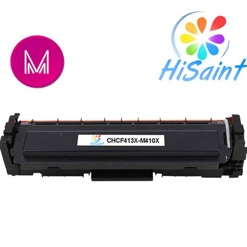 ФОТО Hot Sale [Hisaint] Magenta Toner Compatible for HP Laserjet Pro CF413X M452 dn / dw / nw M470 Tri-Color 5000 pages Free shipping