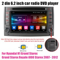 Car DVD Player GPS Radio Bluetooth For Hyundai H1 Grand Starex Grand Starex Royale i800 Starex 2007 2012