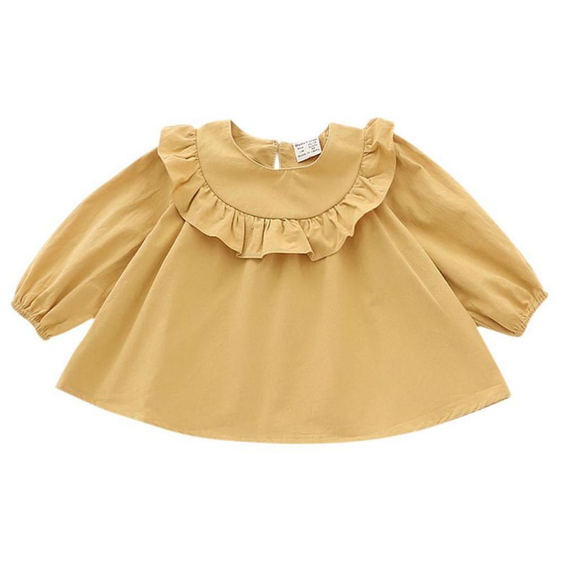 Newest2017 Spring/Autumn shirt Baby girls blouses and shirts Long sleeves girls blouse lotus collar girls blouseNewest2017 Spring/Autumn shirt Baby girls blouses and shirts Long sleeves girls blouse lotus collar girls blouse