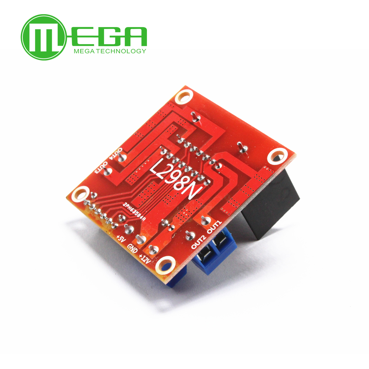 Megmoki New Dual H Bridge Dc Stepper Motor Drive Controller Board Diagram Together With L298 Circuit Pin On Module L298n For Ar Duino Integrated Circuits In From Electronic