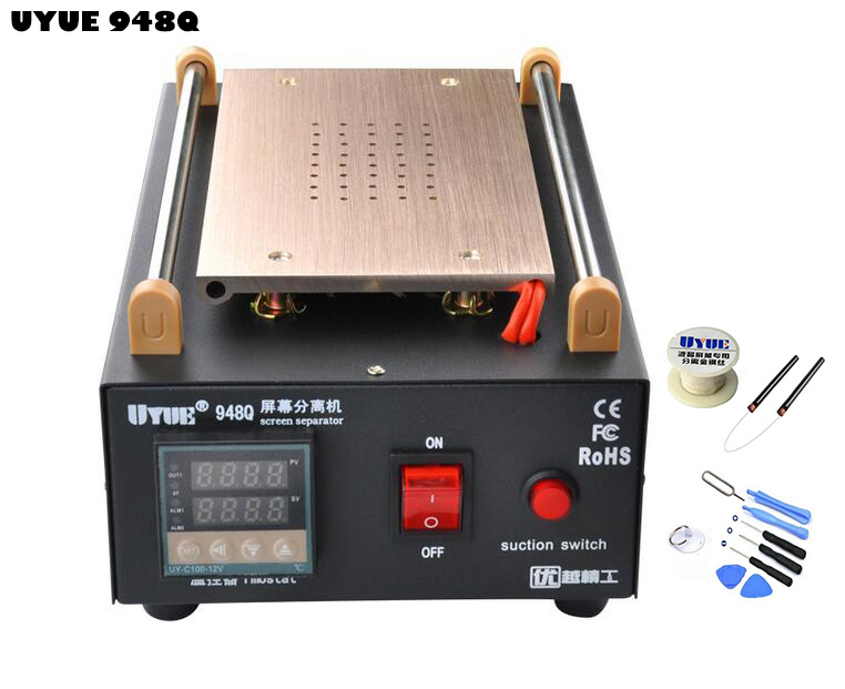UYUE 948Q Built in Pump Vacuum LCD Screen Separator Machine with Cutting Wire and 8 in