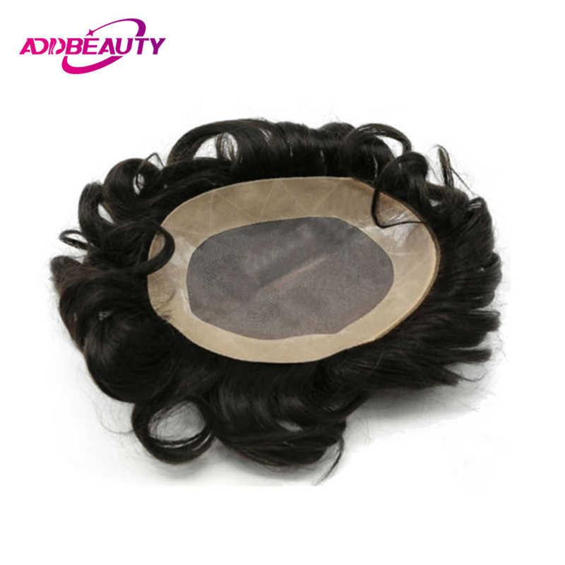 AddBeauty Losse Golf Peruaanse Maagd Menselijk Haar Weave Bundel 1 stuk Natuurlijke Kleur Voor Zwarte Vrouwen Salon Onverwerkte Dubbele Inslag