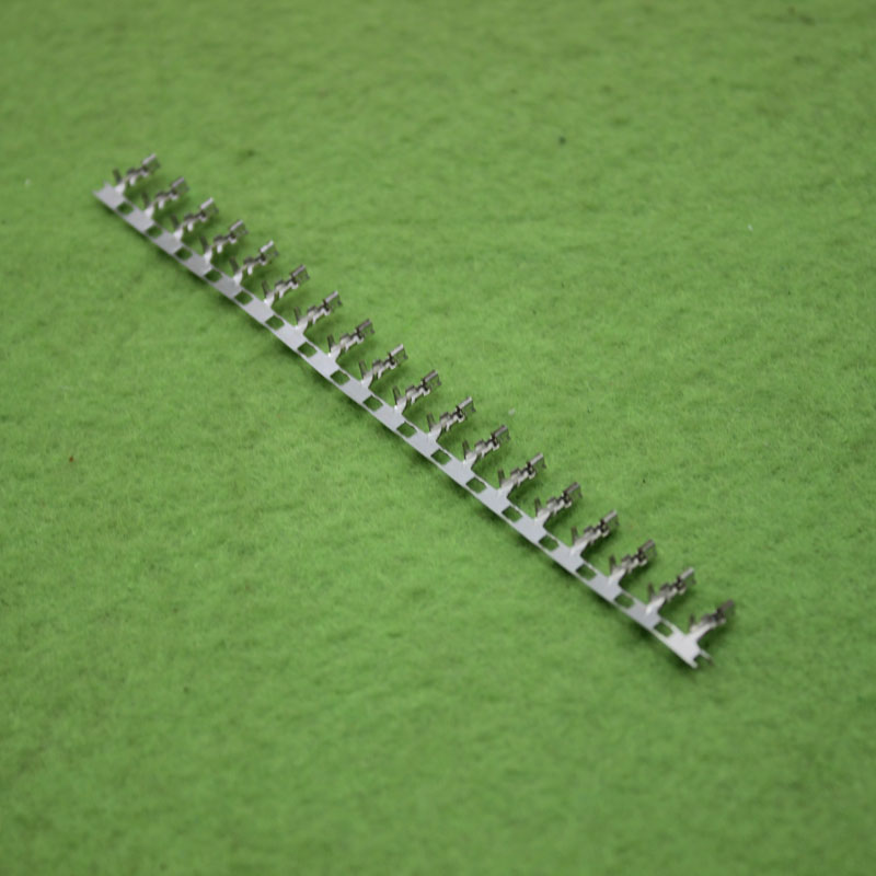 400pcs Female Crimp Pin Connector Terminal 2.54mm Pitch xh 2.54mm hd 007 surface mounting silver plated surface crimp terminal current 10a male female 250v 7 pins connector