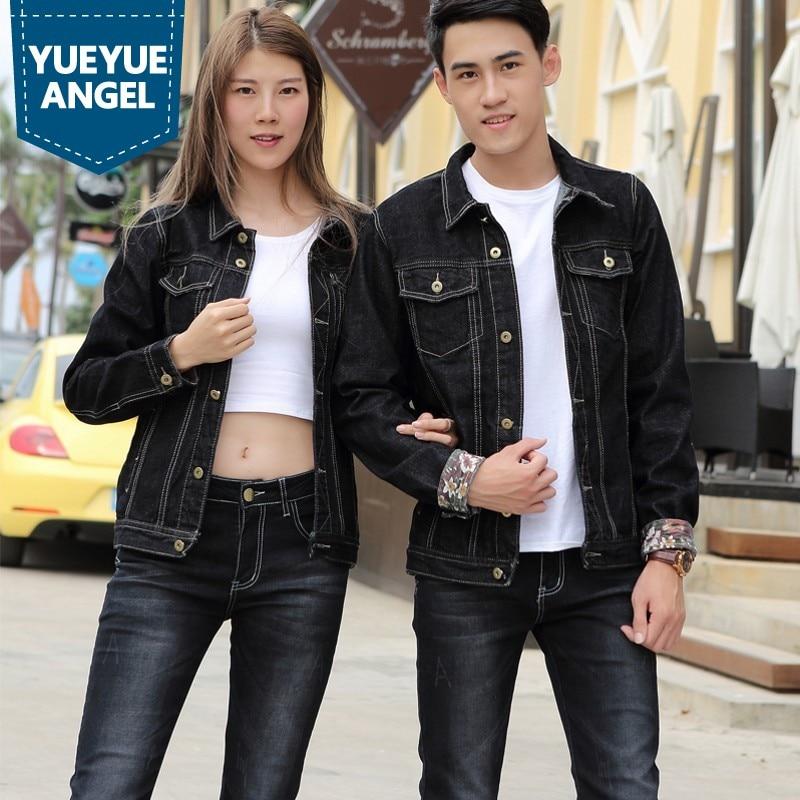 Sets Mens 2019 Autumn Hot Fashion Slim Fit Full Sleeve Biker Style Black Jackets Vintage Straight Full Length Jeans Suits Man