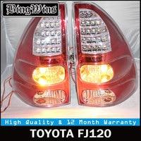 Tail Lamp for Toyota Land Cruiser Prado FJ120 LC120 2003 2009 Taillight Rear Lamp Parking Brake Turn Signal prado taillights