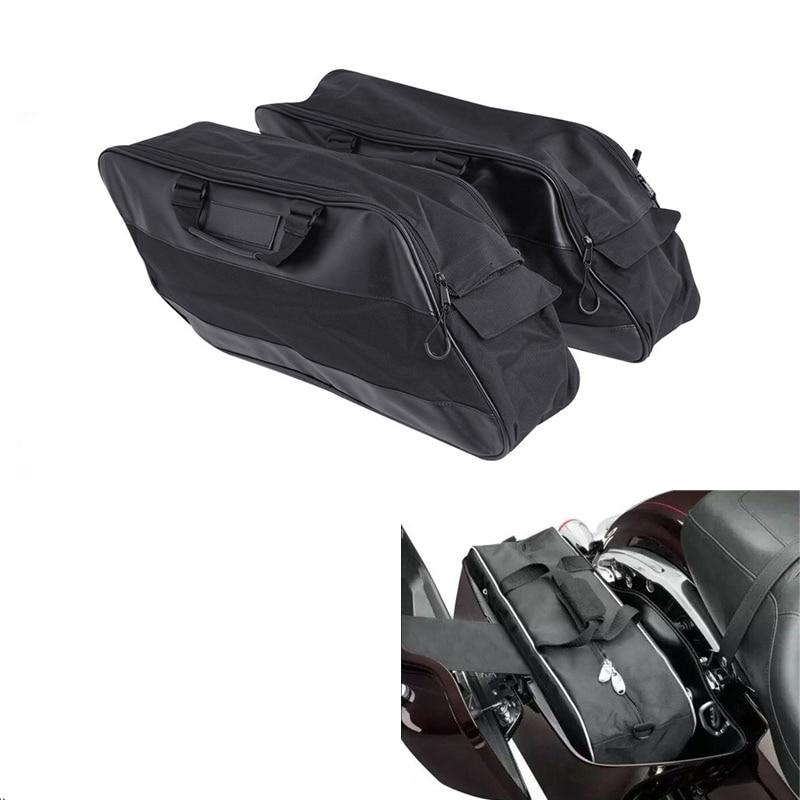 Motorcycle Saddlebag Waterproof Liners Luggage Travel Pak For Harley Touring Road King Electra Glide Street Road Glide 1994-2019