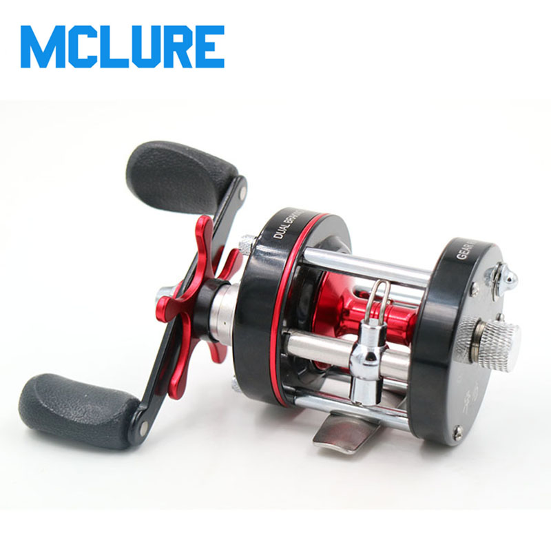 Z40 7+1 Ball Bearings Drum Baitcasting Reels Fishing Reels Lure Tackle Trolling Boat Saltwater Round Reel metal round jigging reel 6 1 bearing saltwater trolling drum reels right hand fishing sea coil baitcasting reel