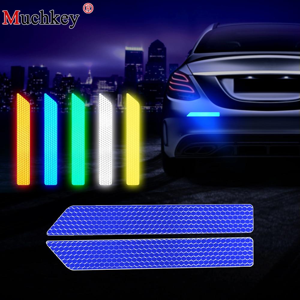 auto Zadní nárazník Anti Collision Upozornění na zadní auta Ochranný barevný reflexní bezpečnostní pásek Výstražná samolepka s nápadem
