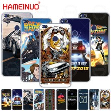 HAMEINUO Delorean Back To The Future time machine phone Case for huawei Ascend P7 P8 P9 P10 P20 lite plus pro G9 G8 G7 2017(China)