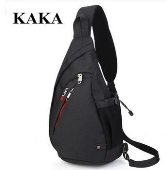 3e252d4d61b3 KAKA/Брендовые мужские сумки-мессенджеры, нагрудная сумка для мужчин, большая  мужская сумка через плечо, зарядка через usb, нагрудная сумка рюк.
