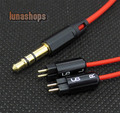 120cm DIY Red Cable For Westone W4r UE18 UE18PRO UM3XRC ES5 ES3 Earphone Headset